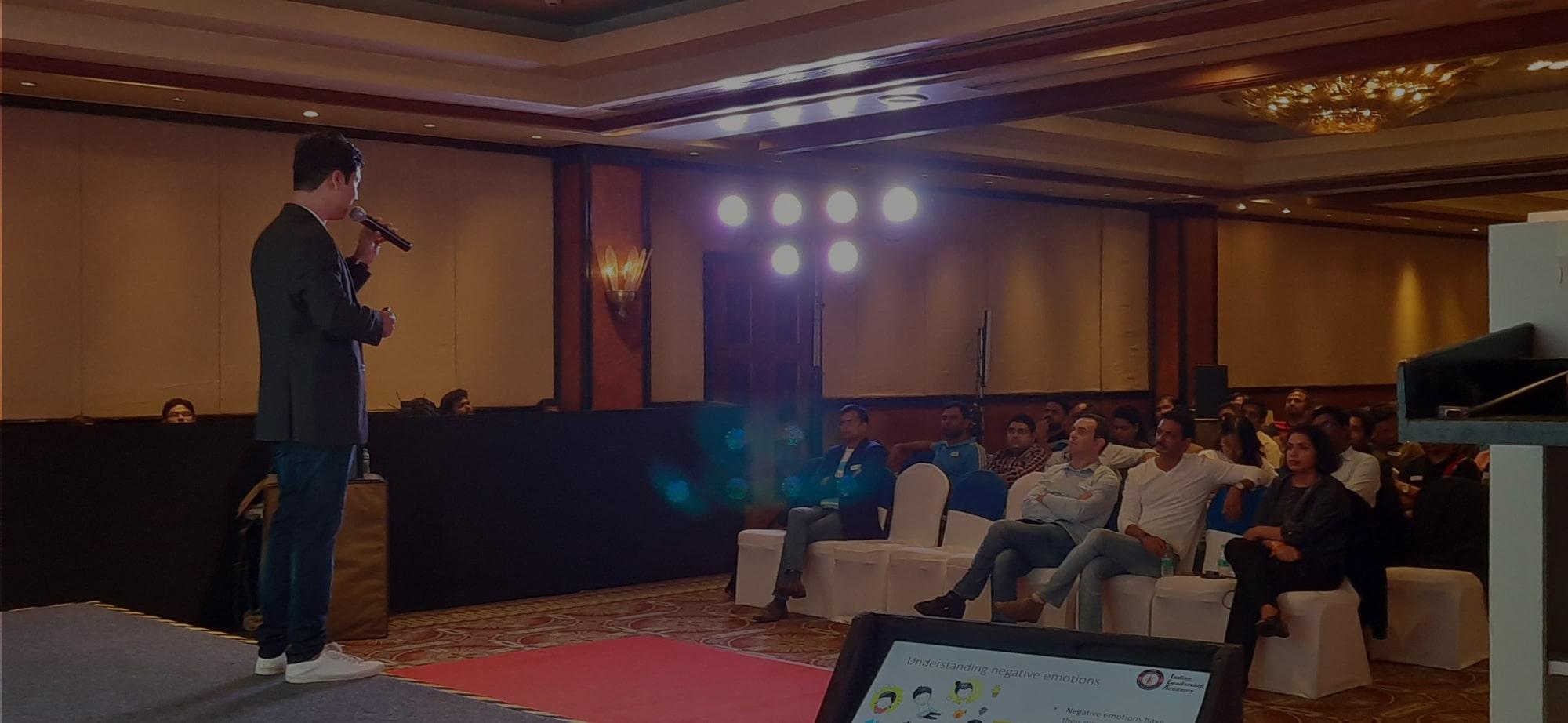 Leadership training in India
